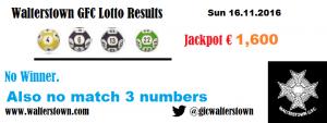 Lotto 16.11.2016