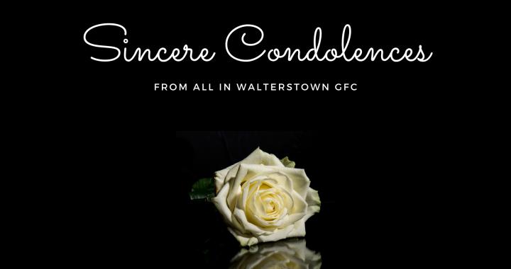 Condolences Walterstown