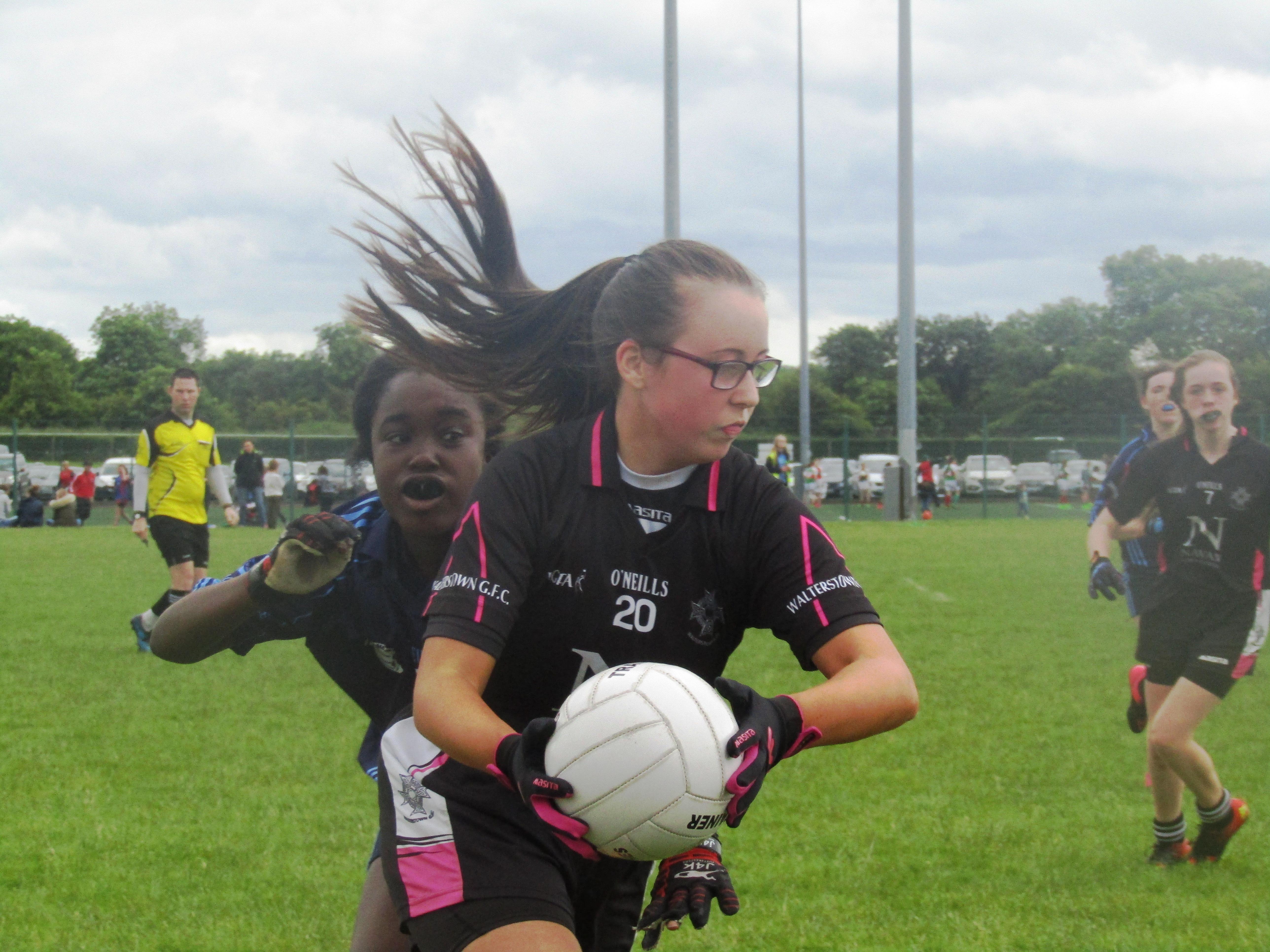 U14 Girls loose Shield final in 3rd minute of injury time.