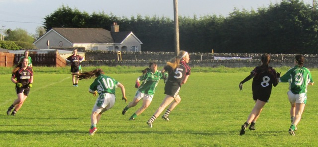 Moylagh's late goals ensure win against Walterstown Ladies