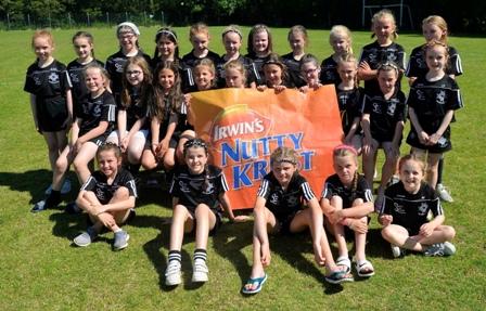 Under 9 & 10 Girls at the McGlone Tournament