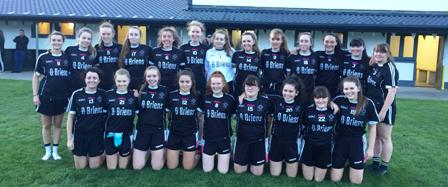 Late rally from Ladies not enough to stop Skryne