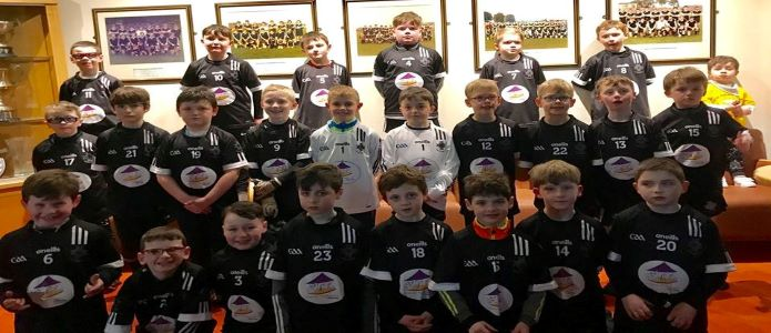 U9 Boys look splendid in new kit