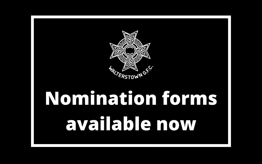 nomination form now available