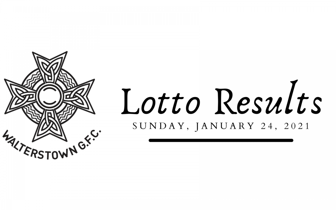 Lotto results (with video), Sunday, January 24, 2021