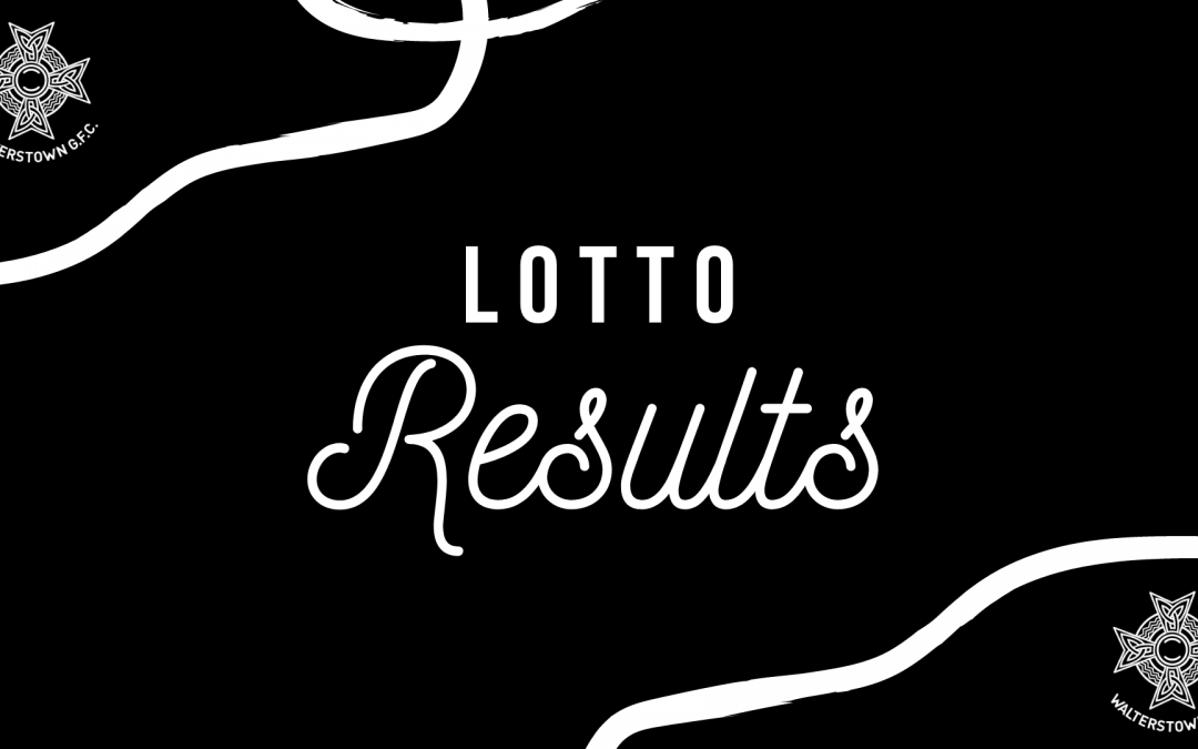 Lotto result for February 21, 2021