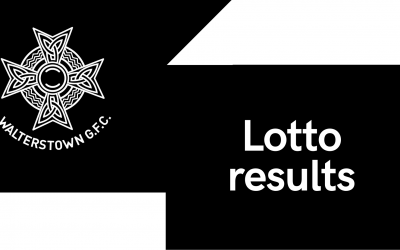 Lotto result for Sunday, February 7