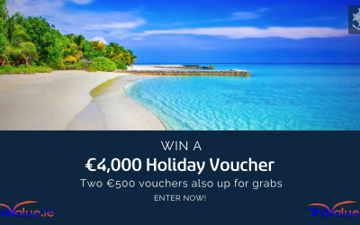 Win a €4,000 travel voucher from Travalu.ie