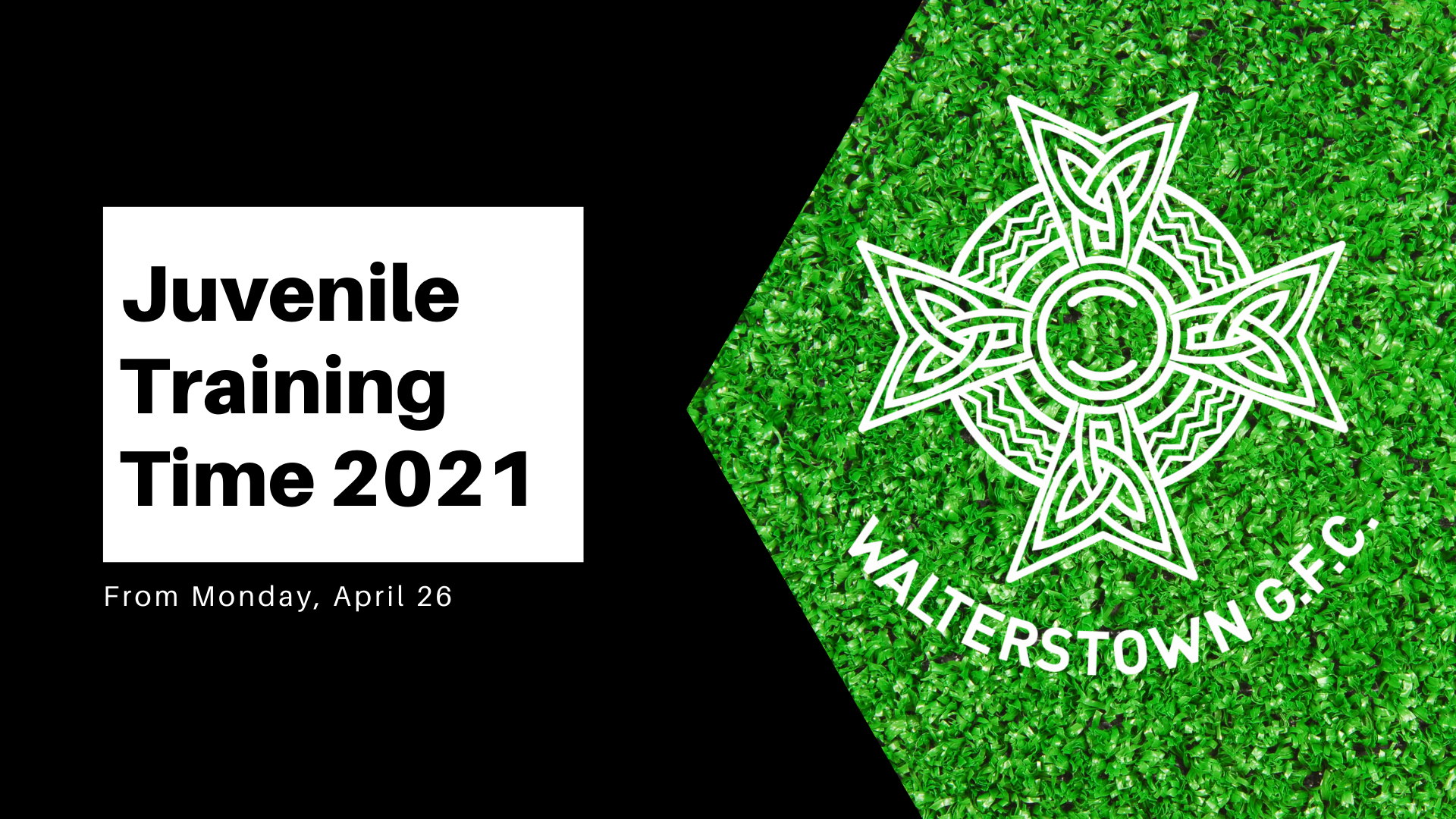 Juvenile Training Times 2021