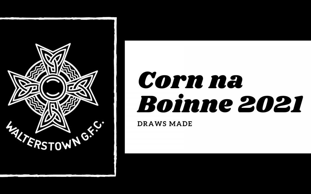 Corn na Boinne 2021