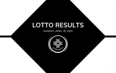 Lotto results for Sunday, May 16, 2021