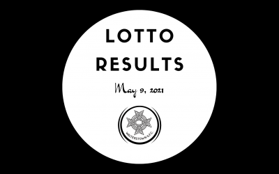 Lotto Results, Sunday, May 9, 2021