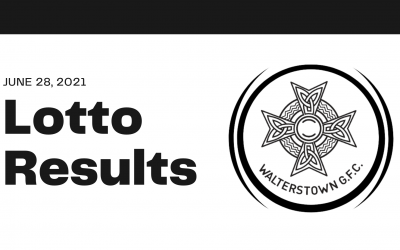 Lotto results for Sunday, June 27, 2021