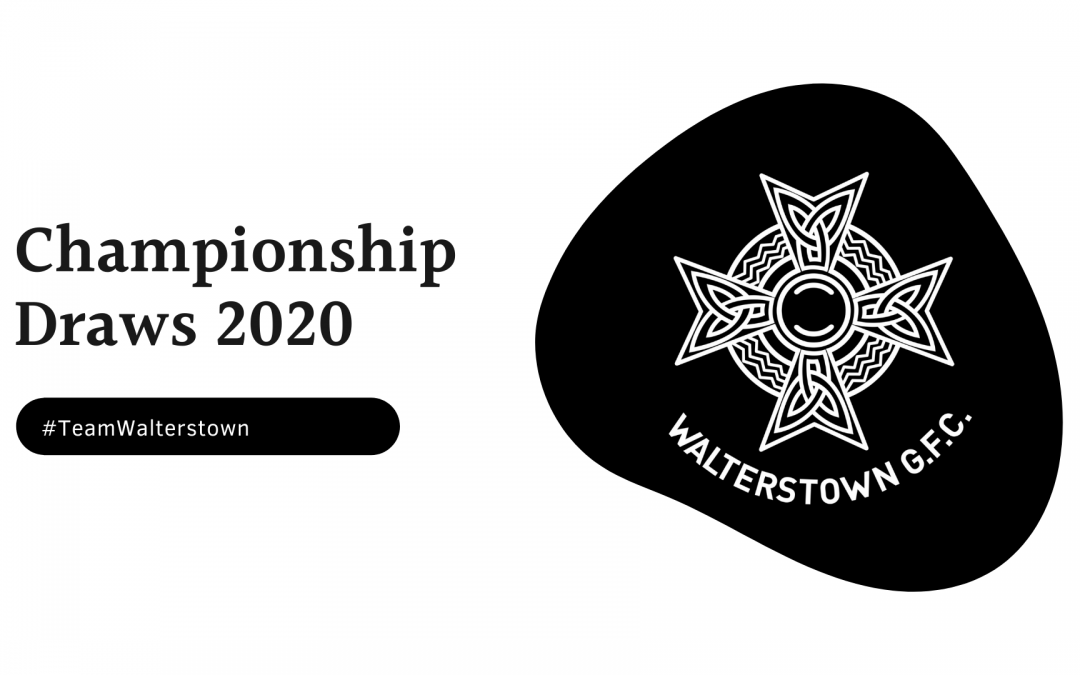 Championship Draws 2021; All the details