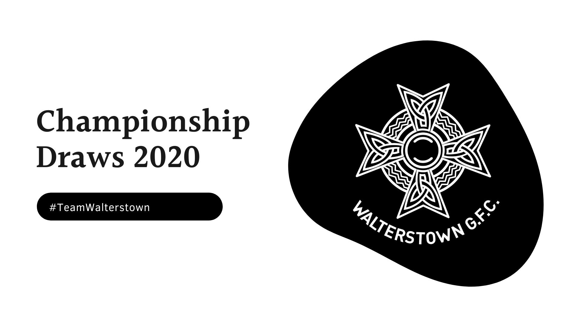 Championship Draws 2021