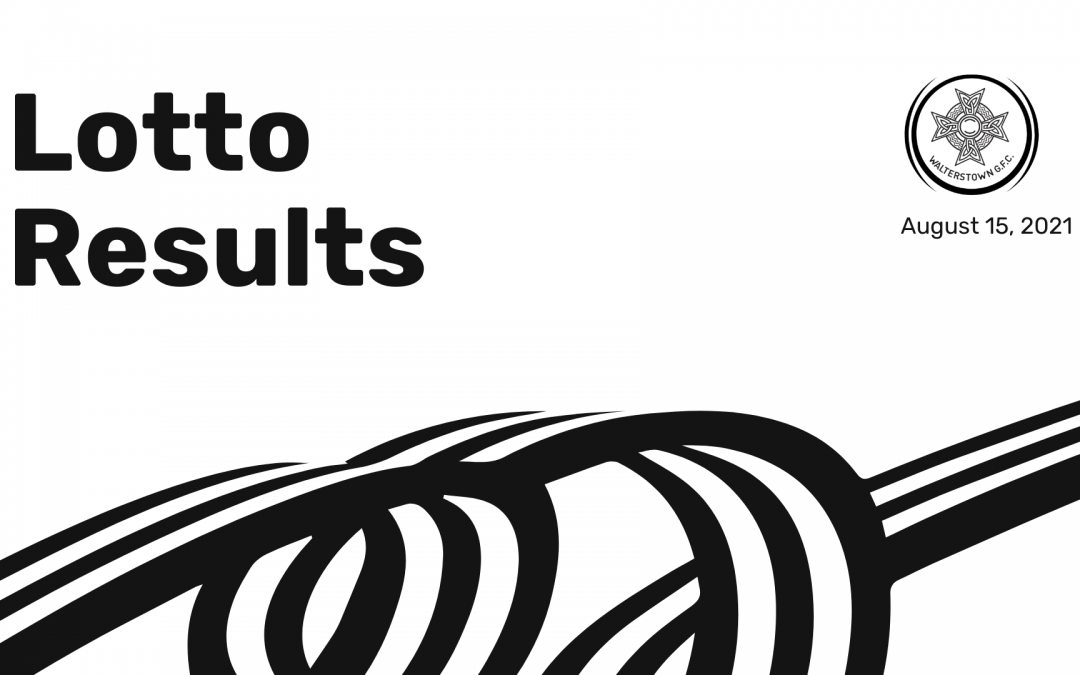 Lotto results for Sunday, August 15