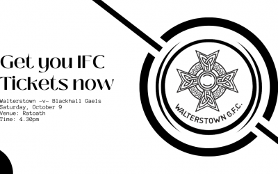 Tickets for our IFC quarter final are now on sale